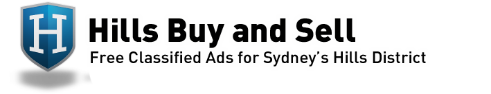 Hills Buy and Sell - $3 for 90 days Classified Ads for Sydney's Hills District